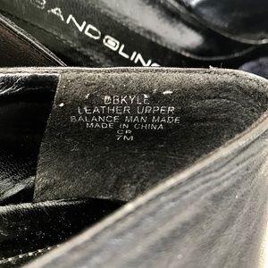 Bandolino Shoes - Black Leather Loafers